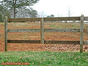 Horse Fence Fixed