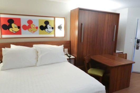 Disney's Pop Century Resort refurbished room
