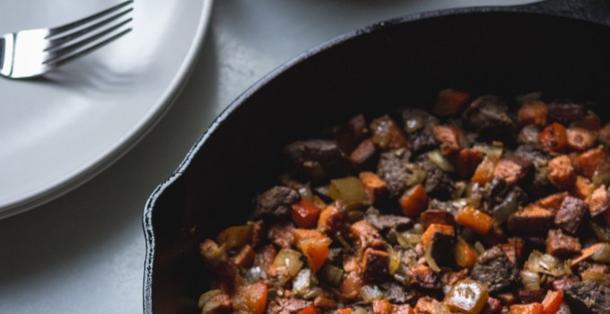 Leftover Meat Hash: A One Pot Meal In Under 30 Minutes