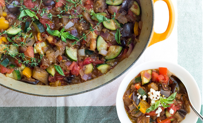 Rustic Ratatouille: A One Pot Summer Meal {Paleo, Whole30 ...