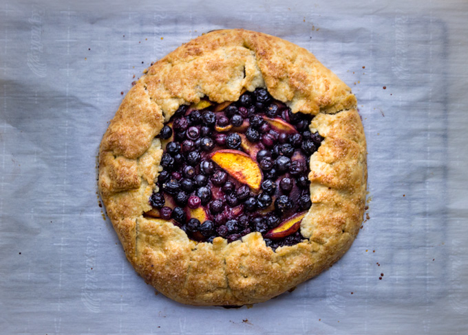 Summer Fruit Galettes