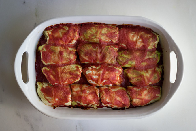 Pigs in a Blanket (aka Cabbage Rolls)