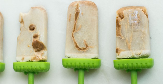 Cinnamon Caramel Horchata Popsicles {Vegan, Paleo option}