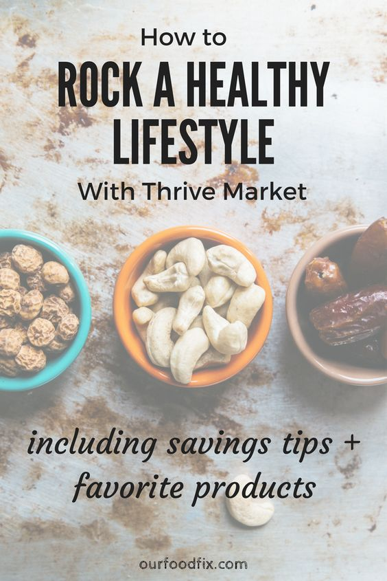 An all in one resource for how to use Thrive Market to Rock A Healthy Lifestyle. Includes tips on how to maximize savings and the best products. | Thrive Market products (ad) | Favorite things | Favorite products | Healthy living | Healthy lifestyle resources | Paleo pantry | Paleo products | Whole foods | Real foods | Menu and meal planning | Cost savings | Savings tips | Budget eats