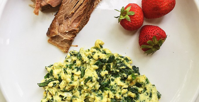 Seriously Simple Recipe: Green Eggs + Ham {Paleo + Whole30}