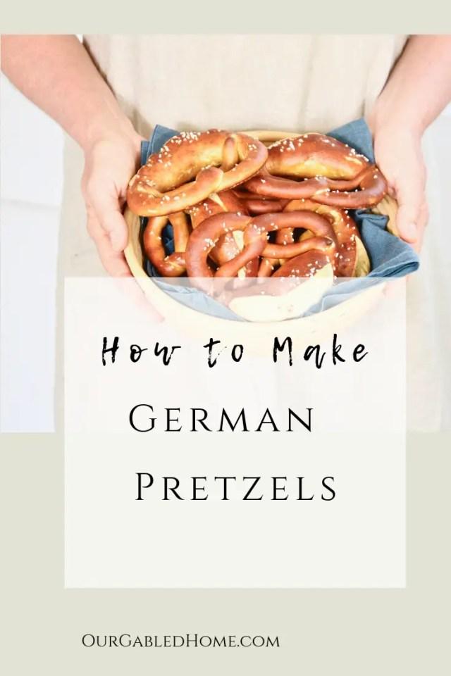 German Pretzel pin