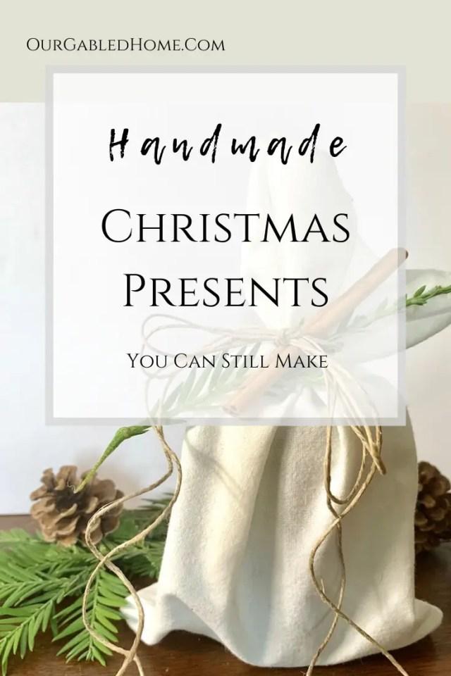 handmade Christmas presents