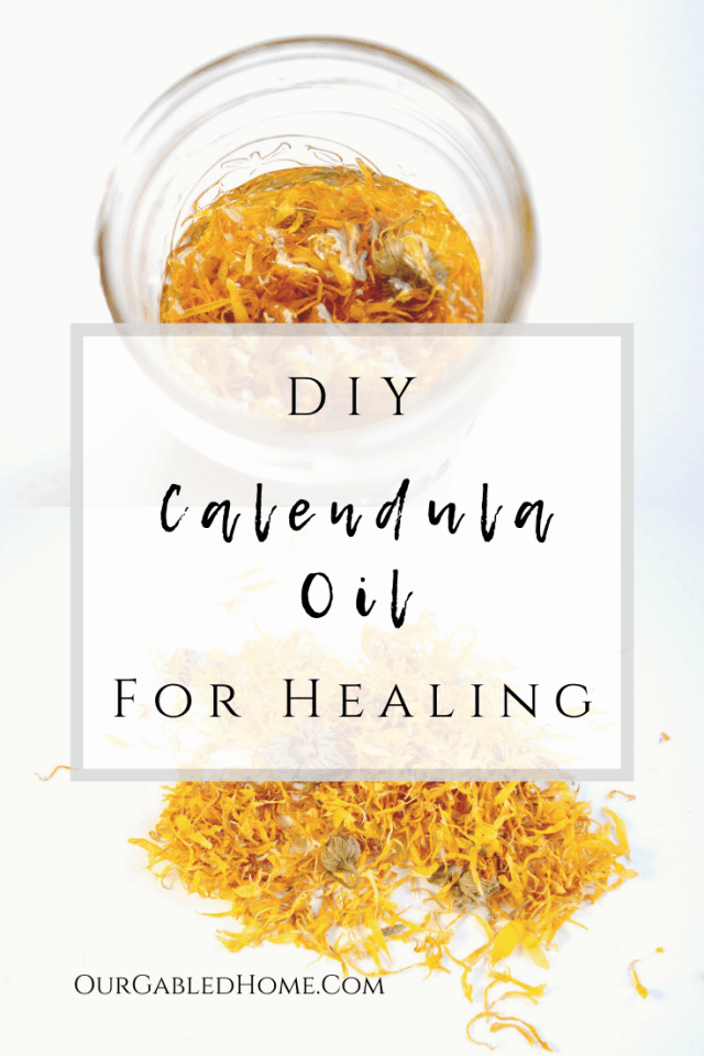 DIY Calendula Oil