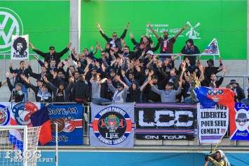 PSG'S Ultra supporters.