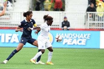 Wendie Renard and Eniola Aluko.