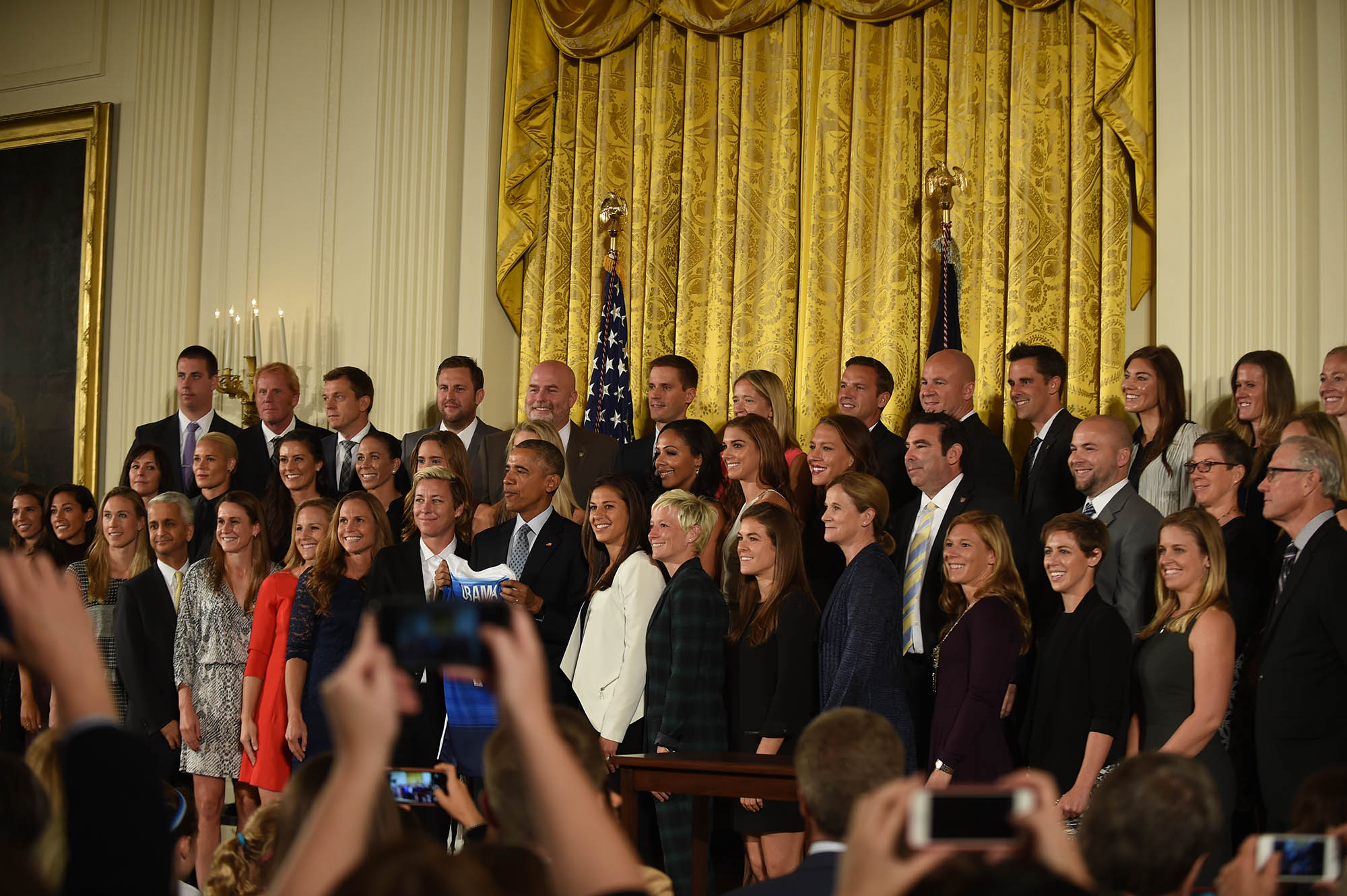 USWNT at the White House: President Obama Honors