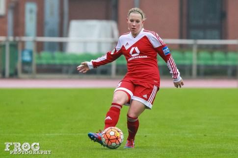 Marith Prießen for FFC Frankfurt.
