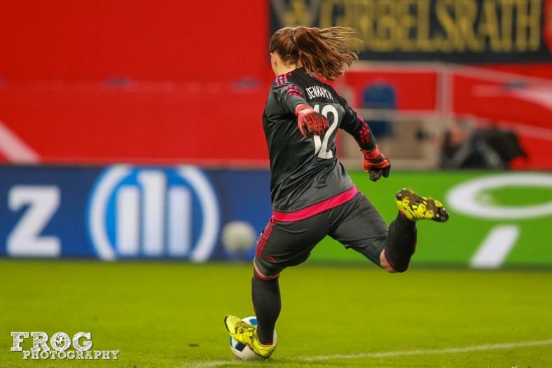 Germany's Laura Benkarth.