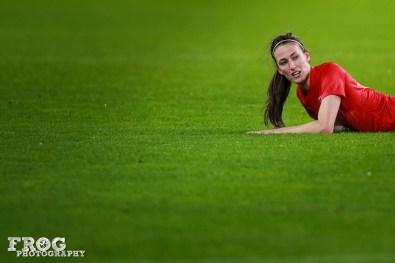 England's Jill Scott (ENG).