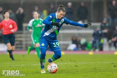 Wolfsburg's Ramona Bachmann.