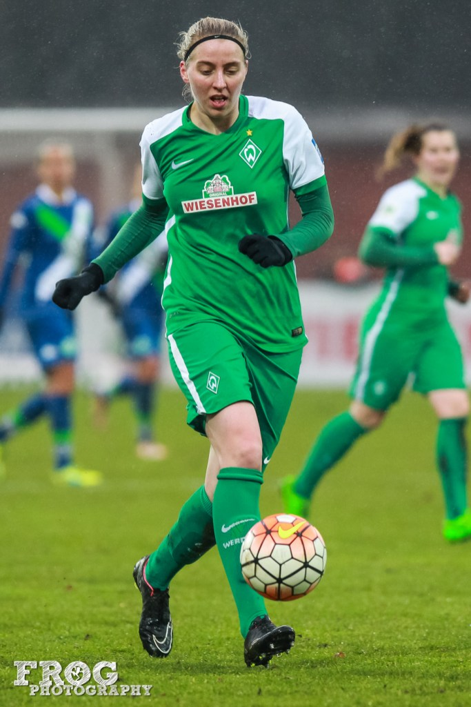 Werder Bremen's Katharina Schiechtl.