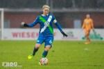 Nilla Fischer for Wolfsburg.