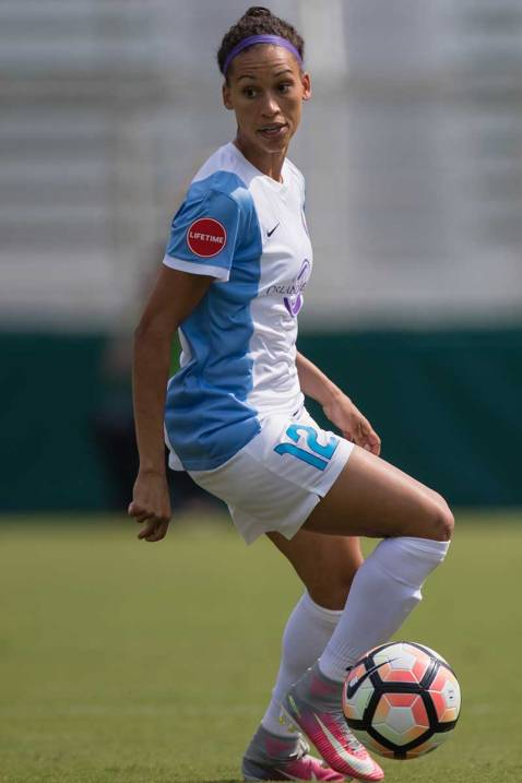 The Orlando Pride's Kristen Edmonds. (Shane Lardinois)