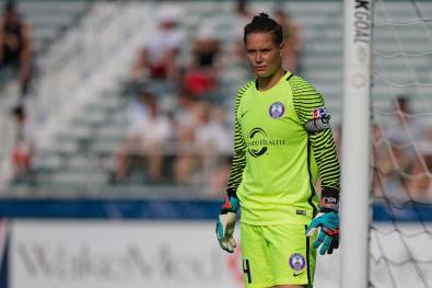 Ashlyn Harris of the Orlando Pride. (Shane Lardinois)