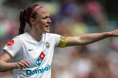 The Captain. Becky Sauerbrunn. (Shane Lardinois)