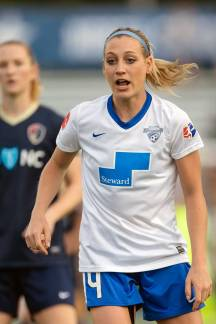 Megan Oyster of the Boston Breakers. (Shane Lardinois)