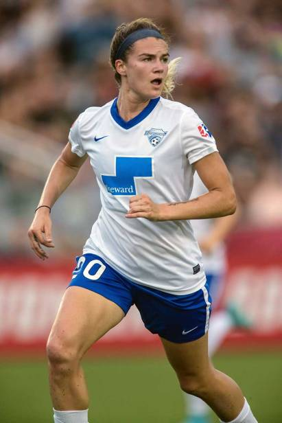Christen Westphal of the Boston Breakers. (Shane Lardinois)
