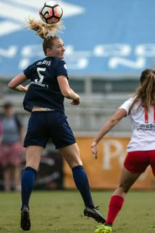 Sam Mewis of the North Carolina Courage. (Shane Lardinois)