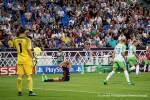 Lyon's Eugénie Le Sommer reacts to missing a shot during the 2018 Champions League final. (Daniela Porcelli)