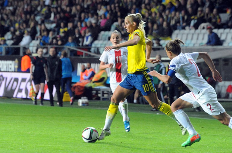 Sweden's Sofia Jakobsson (Anders Henrikson, Wkicommons)