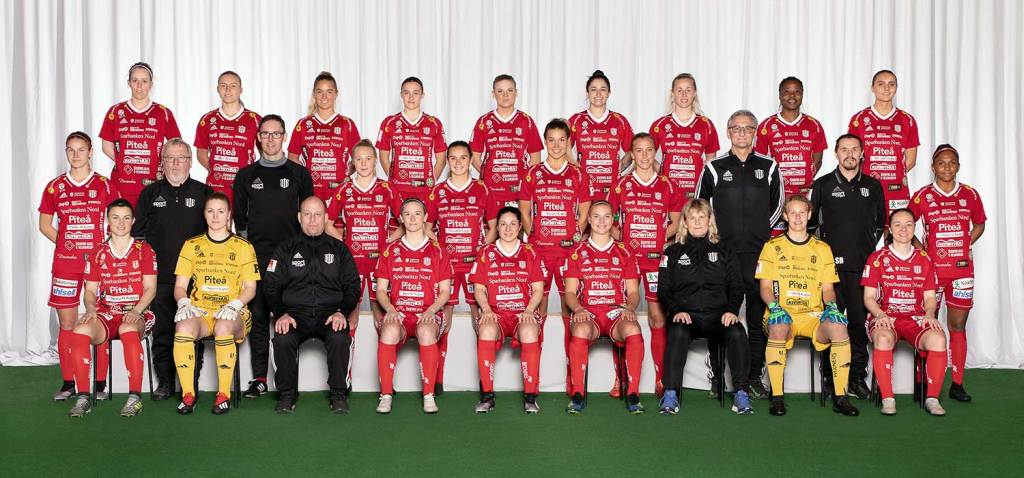 Piteå IF 2019 team photo (Piteå IF).