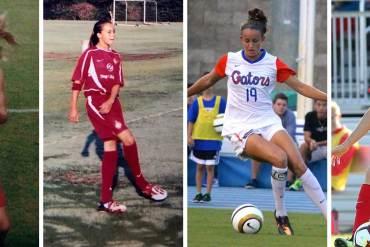 Havana Solaun through the years, from pee-wee soccer to Washington Spirit.