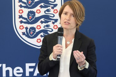 Kelly Simmons, The FA's Director of the Women's Professional Game. (The FA)