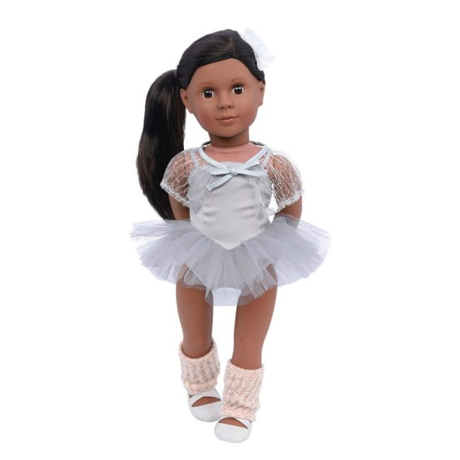 Our Generation Doll Nia 18 inch Dark Brown