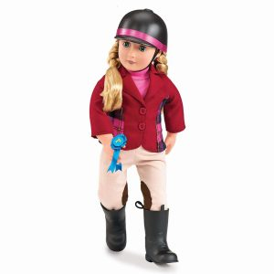 Our Generation Deluxe Doll Lily Anna 18inch Blonde