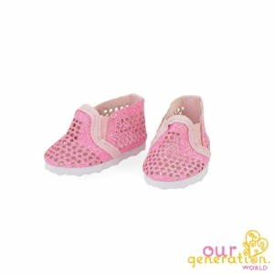 Our Generation Pink Of It Shoes For 18 inch Doll
