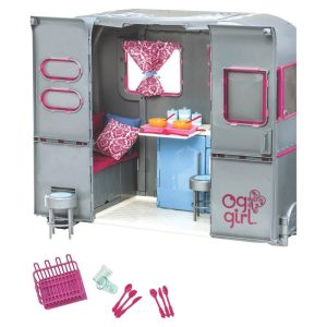 Our Generation RV Seeing You Camper – Silver