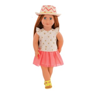 Our Generation Doll Clementine 18inch Red Head