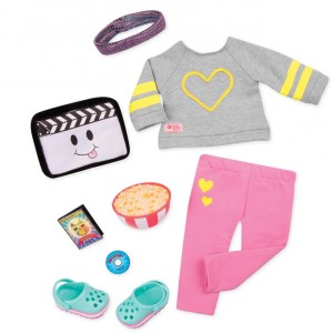 Our Generation Deluxe Home Cinema Outfit Movie Night