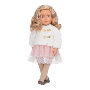 Our Generation Classic Doll Holiday Halia 18inch Blonde