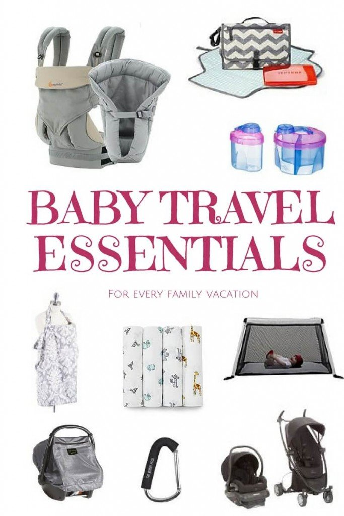 10 Baby Travel Essentials For Every Journey Baby Packing Checklist Our Globetrotters
