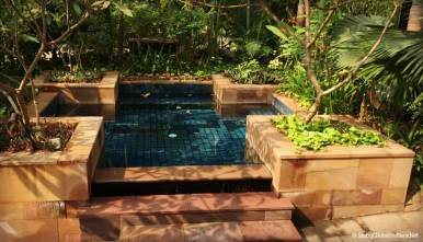 Large spa pool that all the family can enjoy together