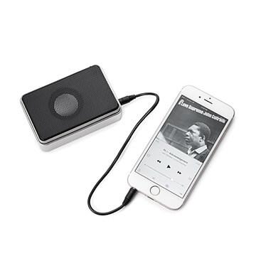 Pocket Tin Speaker | Travel Gift Ideas for teenage boys from Uncommon Goods