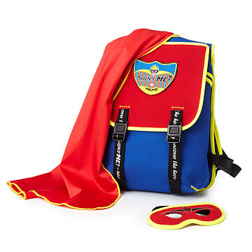 Super Me Back Pack | Travel gift ideas for boys from Uncommon Goods