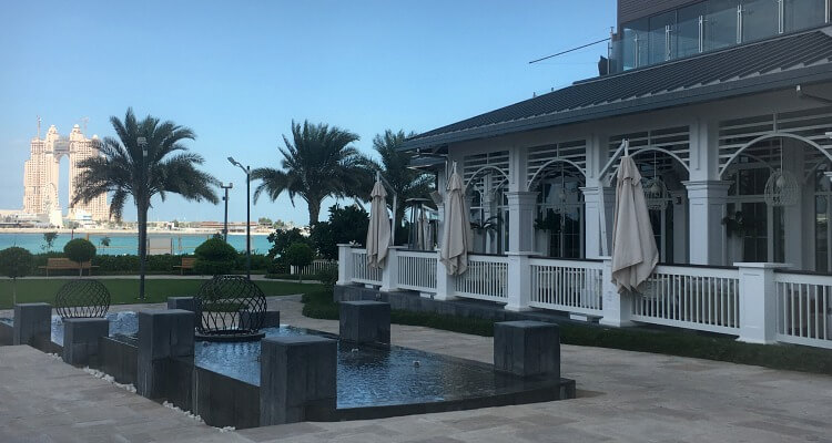 The Nation Riviera Beach Club at St Regis Abu Dhabi