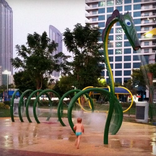 Corniche Family Park one of Abu Dhabis best playgrounds | Our Globetrotters Family Travel & Expat Blog