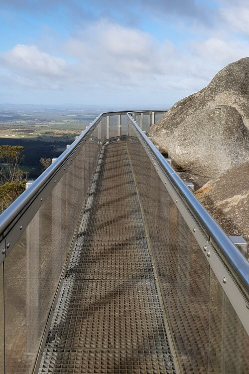 Granite Skywalk in the Porongurups | Things to do in Albany Western Australia with Kids