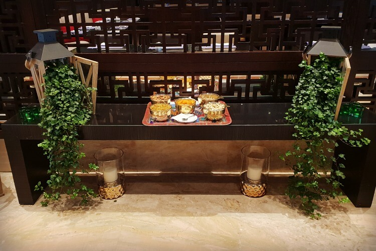 Front reception at Gefinor Rotana Beirut a family-friendly hotel option in Lebanon | Our Globetrotters Family Travel Blog Hotel Review