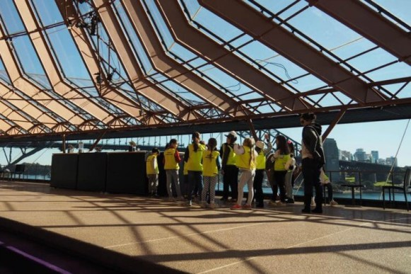 Sydney Opera House tour for kids