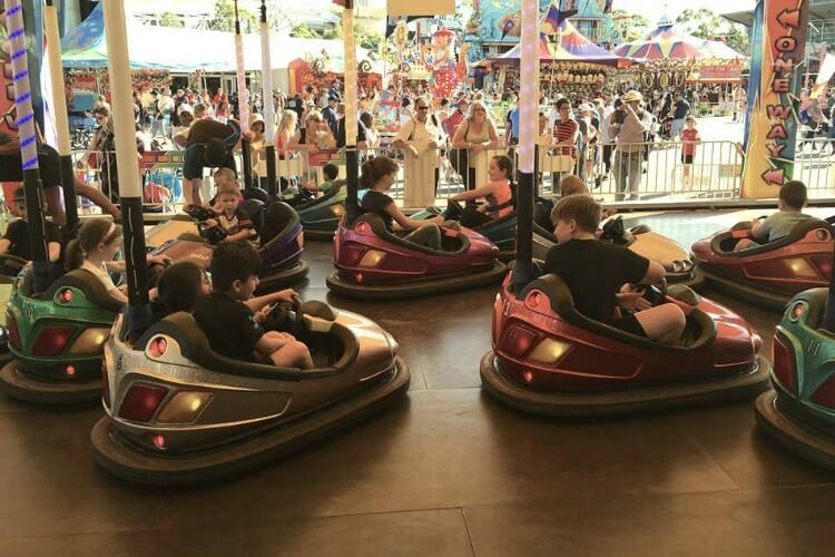 Dodgem Cars at the Royal Easter Show Sydney
