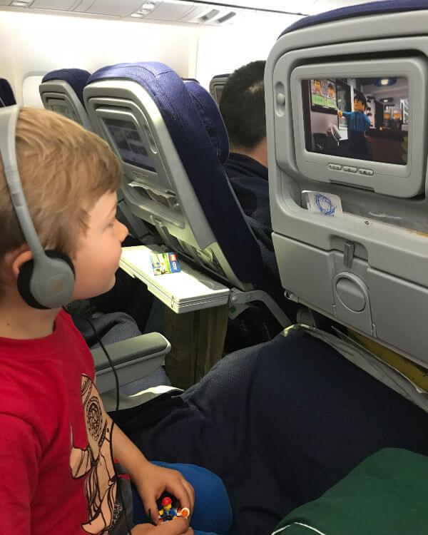 n flight entertainment on board Lufthansa